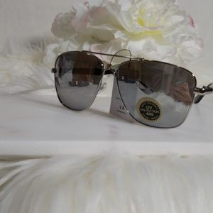 Accessories - American Classic Square Aviator Frame Sunglasses